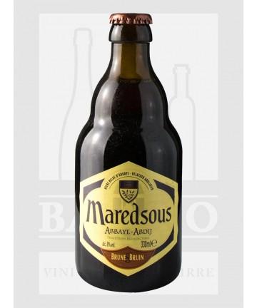 0330 BIRRA MAREDSOUS BRUNE 8%