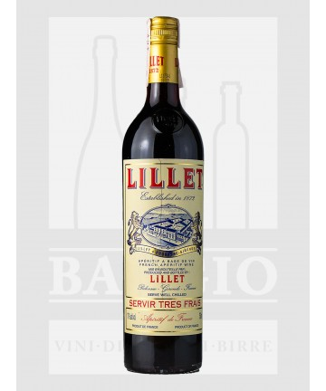0750 LILLET ROUGE APERITIVO...