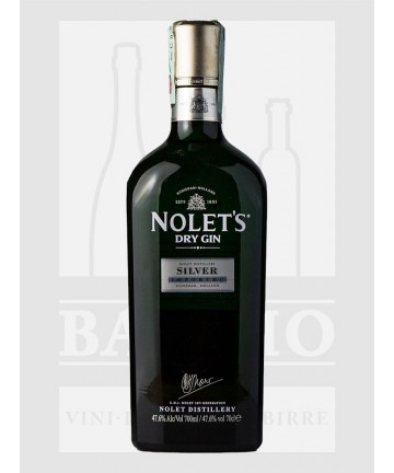 0700 NOLET'S DRY GIN SILVER...