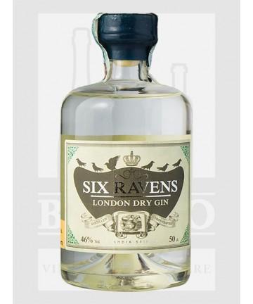 0500 GIN SIX RAVENS LONDON...