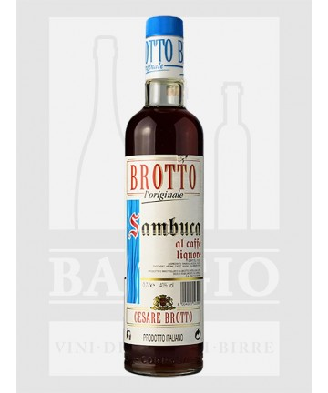 0700 BROTTO SAMBUCA CAFFE' 40%