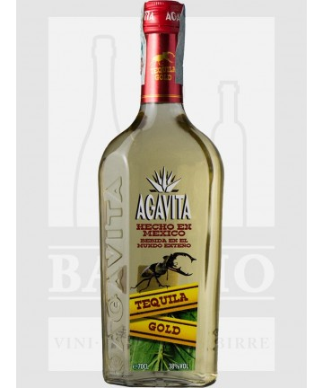 0700 TEQUILA AGAVITA GOLD 38%