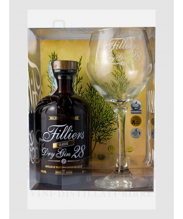 CF. 0500 FILLIERS DRY GIN...