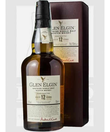 0700 GLEN ELGIN 12 Y.O. 43%...