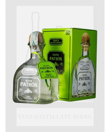 0700 PATRON TEQUILA SILVER 40%