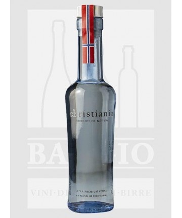0100 CHRISTIANIA VODKA 40%...
