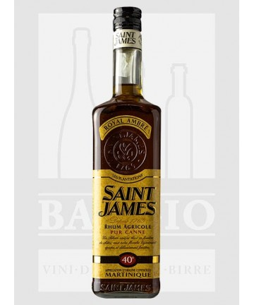 0700 RUM SAINT JAMES AMBRE 40%