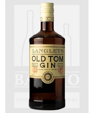 0700 GIN LANGLEY'S OLD TOM...
